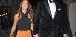 Stylowa Pippa Middleton w sukience maxi