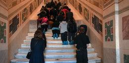Po tych schodach Jezus szedł do Piłata