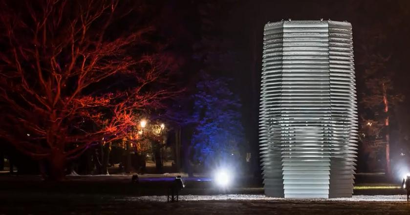 BI: Oto antysmogowa wieża do oczyszczania powietrza