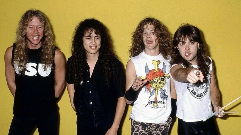 Metallica, jeden z najważniejszych zespołów thrash metalowych
