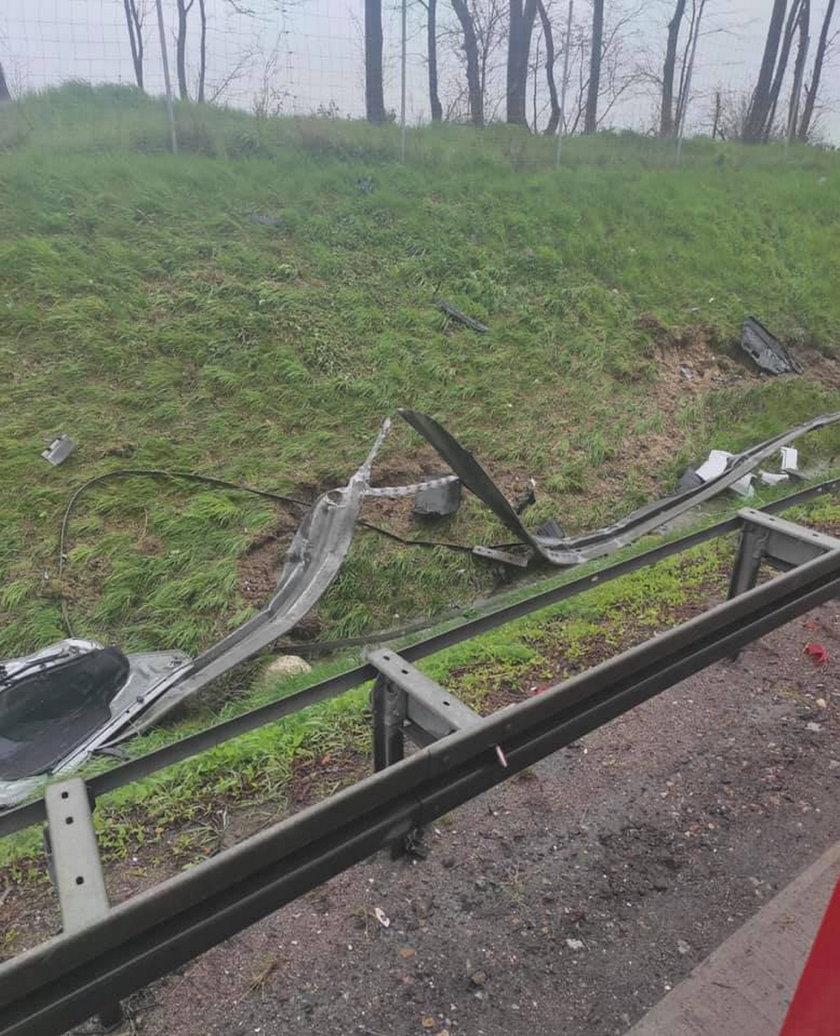 Tragiczny wypadek na A4. Nie żyją dwie osoby