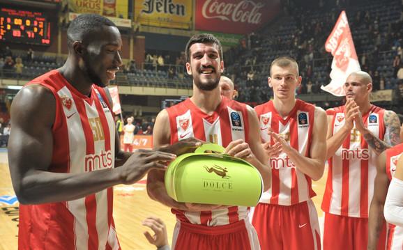 Majkl Odžo, Marko Kešelj, Boriša Simanić i Maik Cirbes ( s leva na desno)