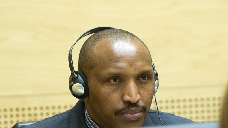Rwandan-born warlord Bosco Ntaganda at the International Criminal Court in The Hague, The Netherlands on February 10, 2014