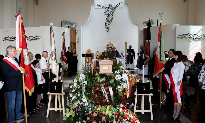 Pogrzeb Kazimierza Czekaja w Krakowie
