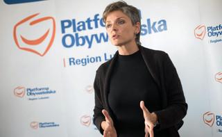 Joanna Mucha wystartuje w wyborach na szefa PO na Lubelszczyźnie