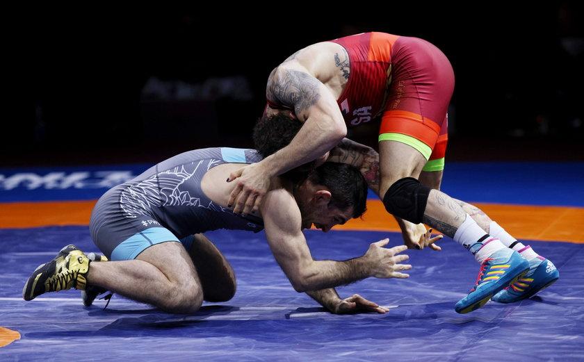 Beka Lomtadze (30 l.) do Sofii przyjechał w ostatniej chwili, ale walczył świetnie. Dopiero w ćwierćfinale przegrał z Gadżijewem