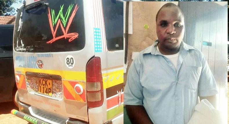 Rogue Driver captured on camera breaking female motorist's car windscreen arrested