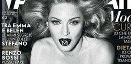 "Ale dekolt! Madonna w ""Vanity Fair"""