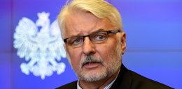 Waszczykowski o ataku nożownika w Warszawie: w Polsce nie ma prześladowań LGBT. Porównał to do kibiców Widzewa i ŁKS-u...