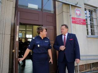 Wiceminister Zieliński pogratulował policjantom z Giżycka: Wykazali się pełnym profesjonalizmem