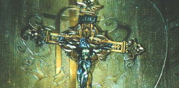Zabytkowy krucyfiks odnaleziony