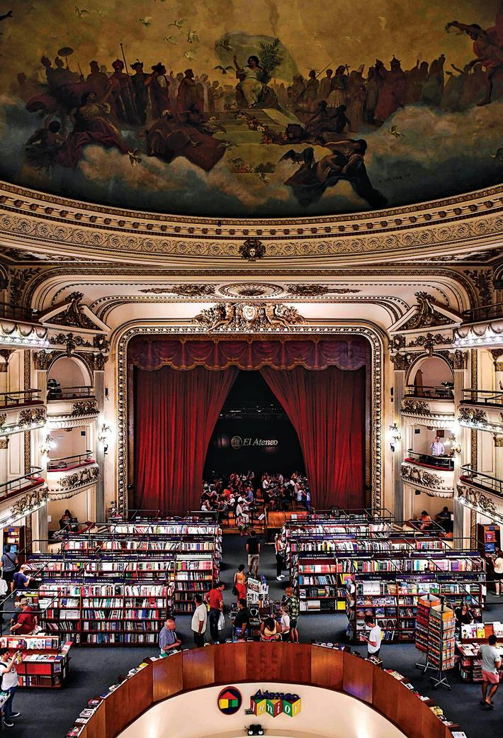 ARGENTINA-NATIONAL-GEOGRAPHIC-MOST-BEAUTIFUL-BOOKSTORE-ATENEO