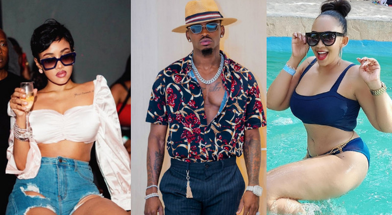 The difference between Tanasha Donna and Zari Hassan's break ups with Diamond Platnumz