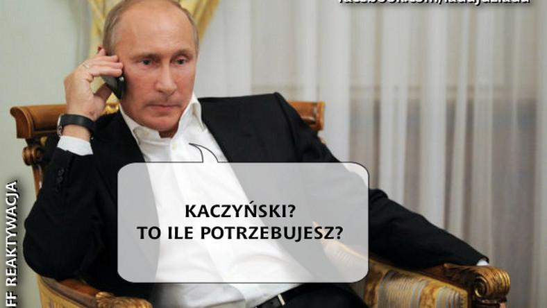 PiS chce zaciągnąć kredyt na wybory. Pomocną dłoń wyciąga do partii Władimir Putin.