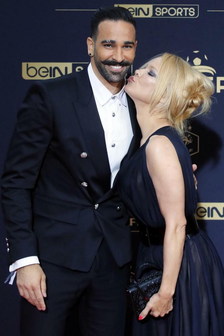 Adil Rami, Pamela Anderson