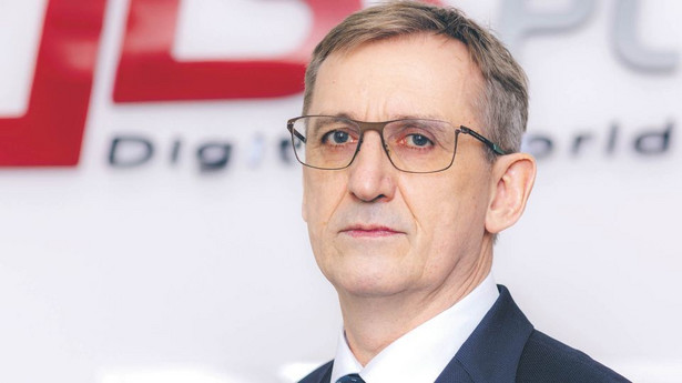 Andrzej Przybyło, prezes firmy AB, dystrybutora sprzętu elektronicznego