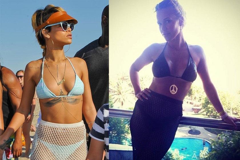Doda i Rihanna w tym samym stroju