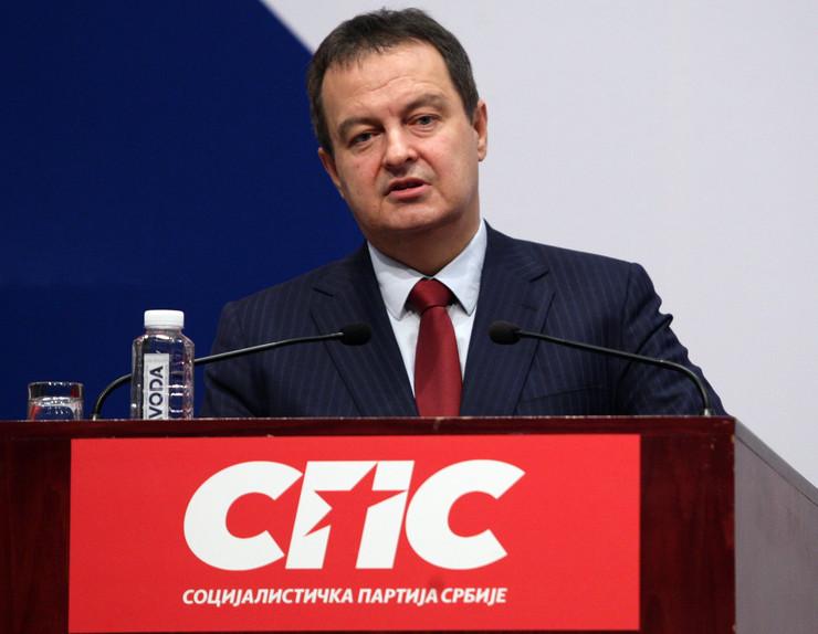 Ivica Dačić, SPS,. Tanjug, S. Radovanović
