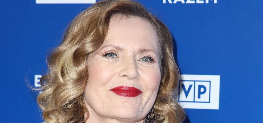"""68-letnia Grażyna Szapołowska pokazała się w skąpym bikini. """"Życie zaczyna się po 64."""""""