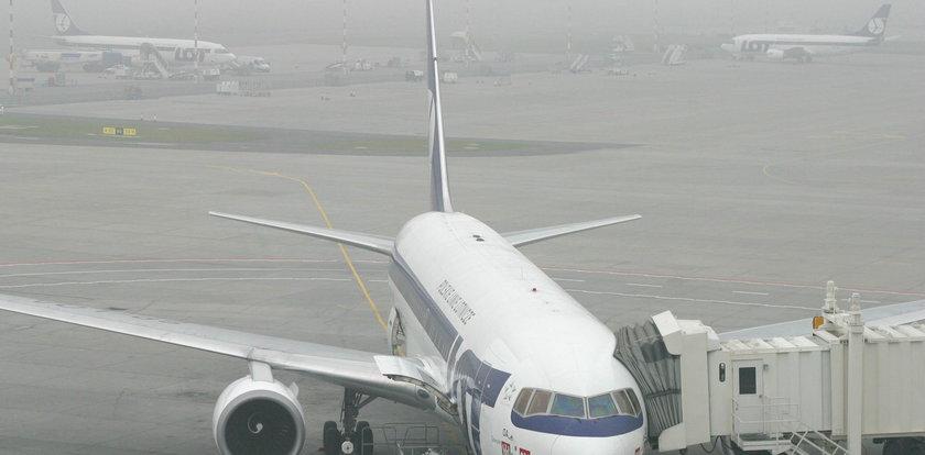 Warszawa odcięta. Zamknięte stołeczne lotniska
