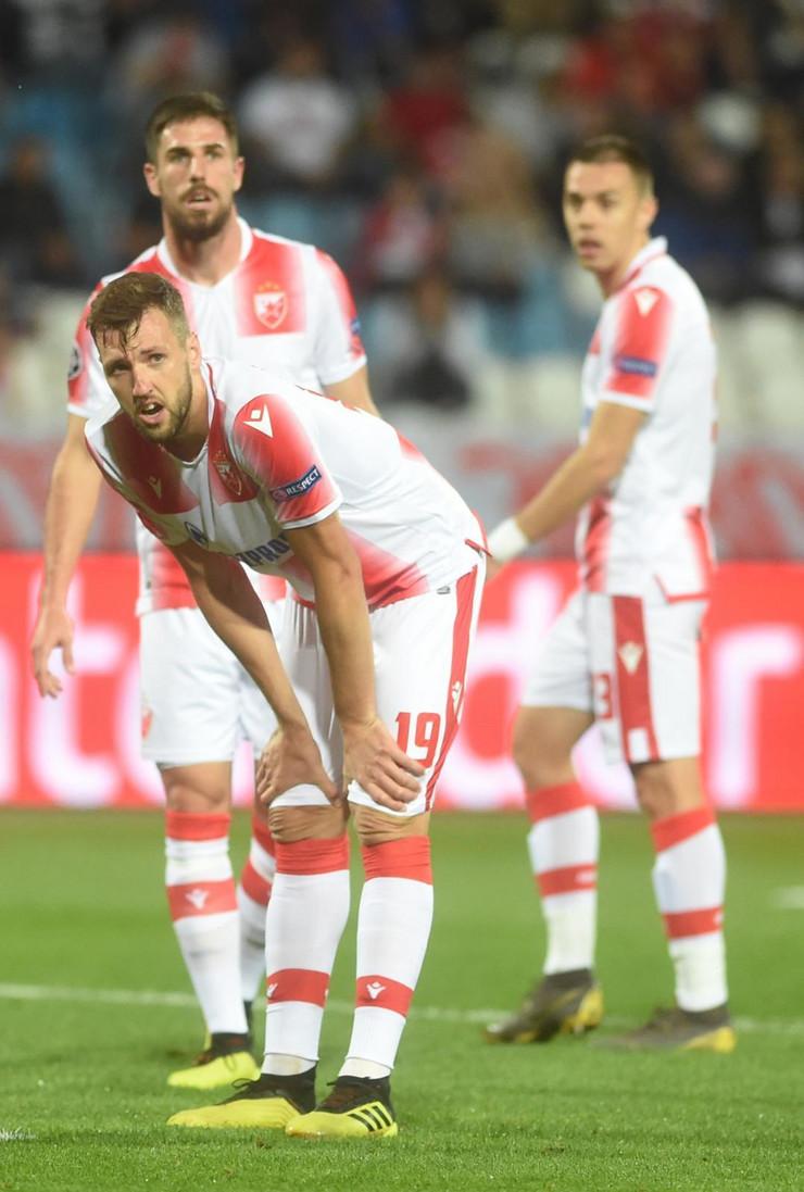 Miloš Degenek, Nemanja Milunović i Milan Rodić, FK Crvena zvezda