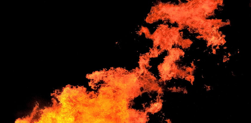 Wielki pożar w świętym miejscu buddystów