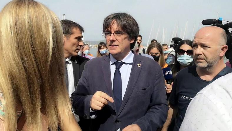 Carles Puigdemont w Alghero