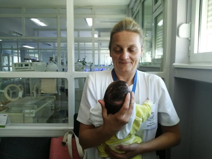 Ostavljena beba, Vranje, porodilište