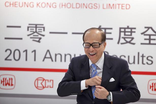 Nr 1.Li Ka-shing: Finansista, inwestor, szef Hutchison Whampoa Ltd. i Cheung Kong (Holdings) Ltd. - majątek 22 mld dol.