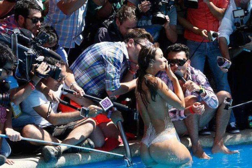 Seksowna dziennikarka, gwiazda mundialu 2014 Jhendelyn Nunez nago!
