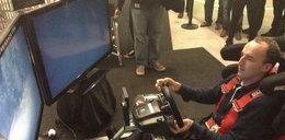 Kubica jeździ na symulatorze. Kierowca Alfy ściga się w domu w Monako