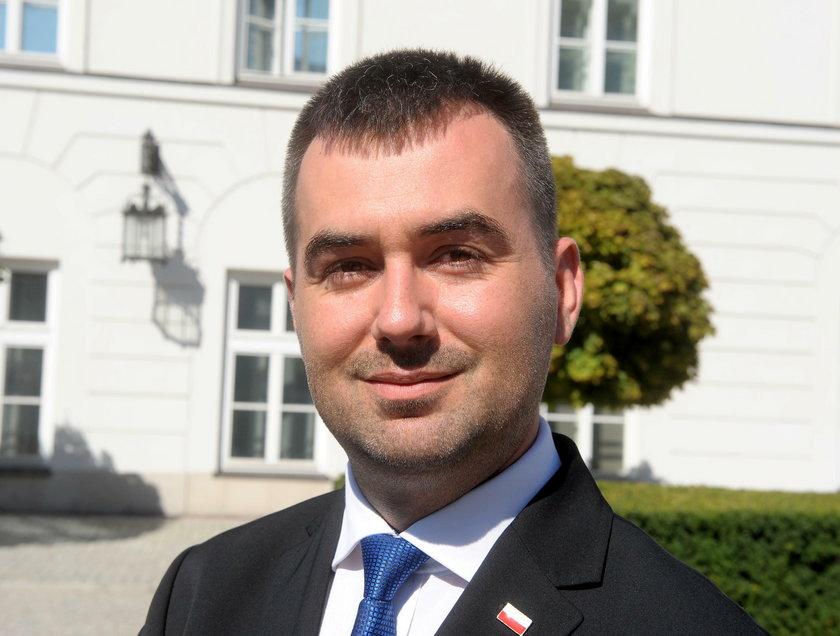 Błażej Spychalski, nowy rzecznik prezydenta