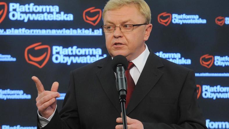 Chlebowski: partie bez dofinansowania z budżetu