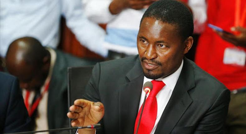 Mwangi Kiunjuri blames Raila Odinga as he complains of life outside government