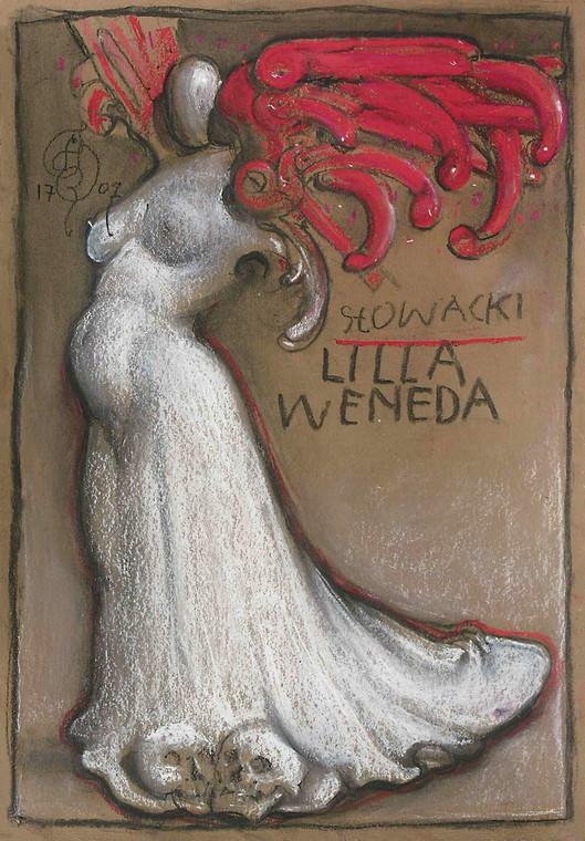 """Franciszek Starowieyski, projekt plakatu """"Lilla Weneda"""""""