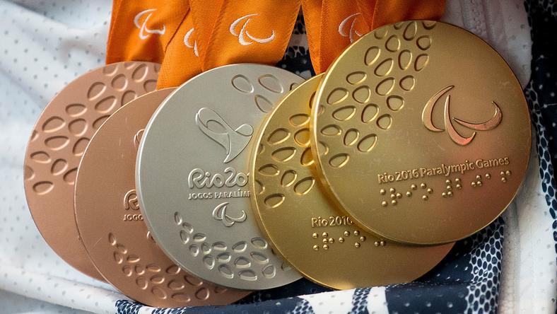 Medale paraolimpijskie