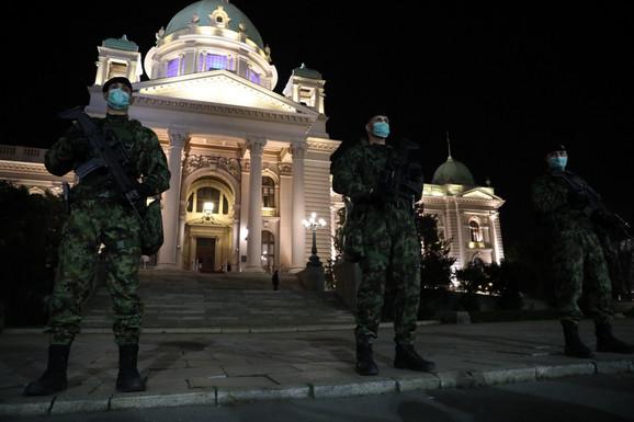 Beograd, policijski čas