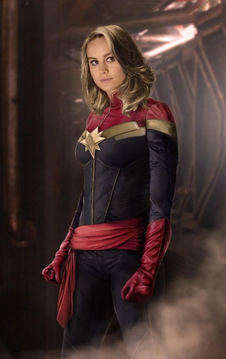 Brie Larson jako Kapitan Marvel / East News