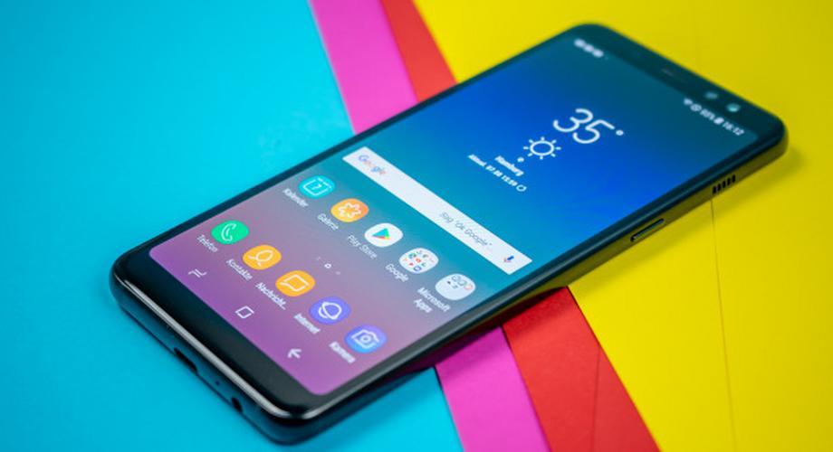 Samsung Galaxy A8 im Test: OLED-Display und starker Akku