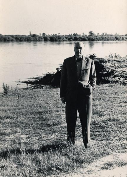 Jarosław Iwaszkiewicz w czerwcu 1959 roku, miesiąc po śmierci Jerzego Błeszyńskiego