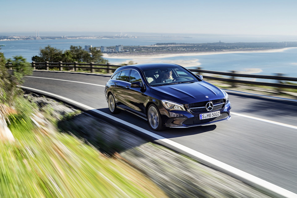 Mercedes CLA Shooting Brake po liftingu