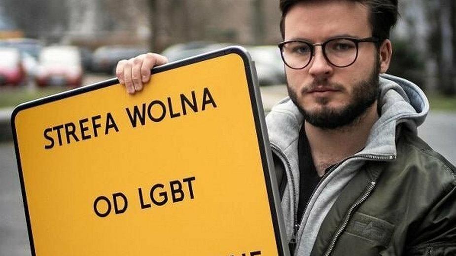 Sądowe starcie gminy z aktywistą LGBT