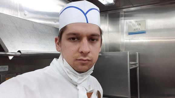 Nemanja Marinković na kruzeru