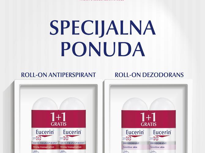 Eucerin: Zaštita od znojenja i neprijatnih mirisa, bez iritacija!