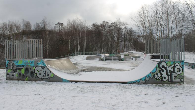 Kielecki skatepark w remoncie. Będzie nowa rampa