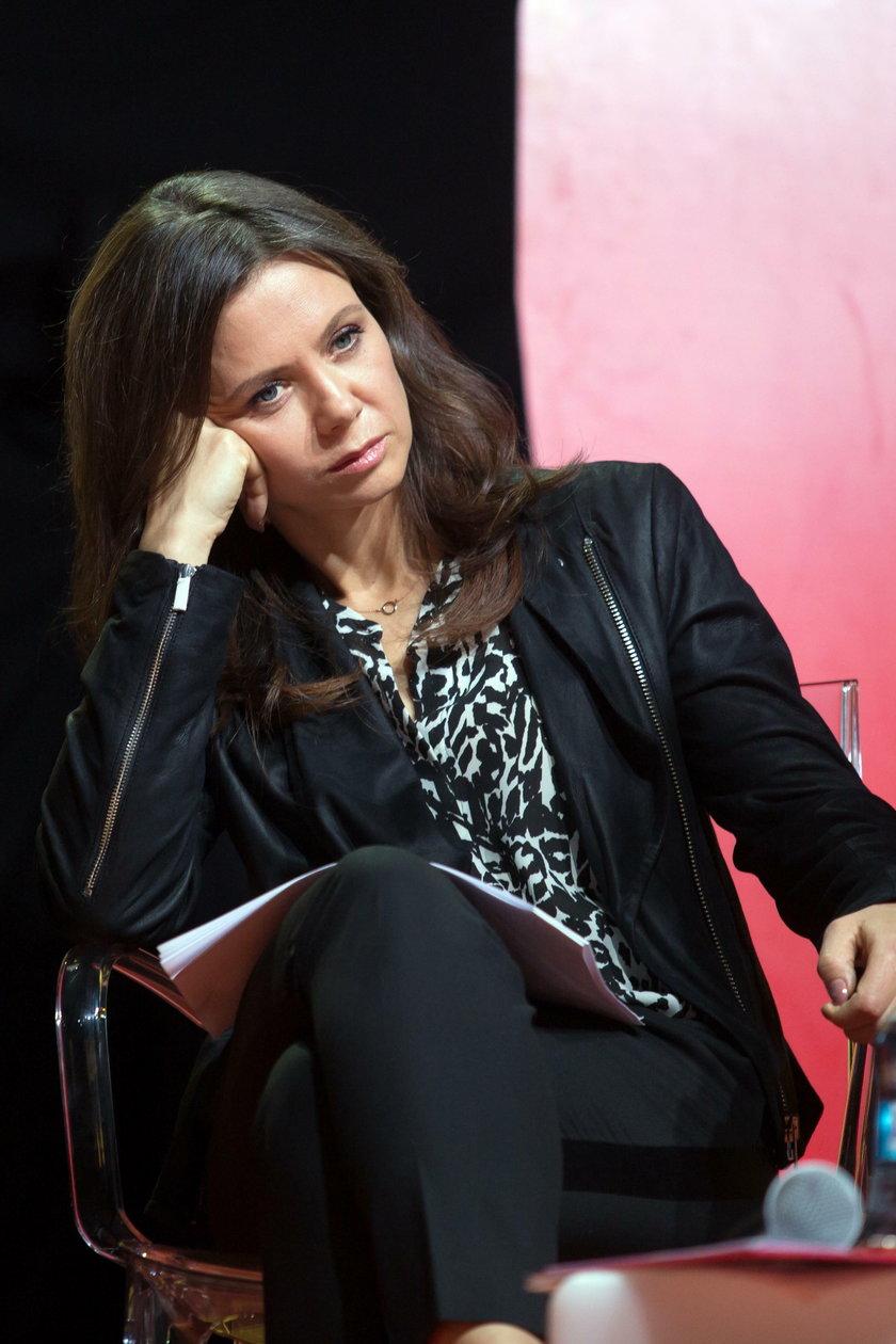 Kłótnia Zofii Klepackiej i Kingi Rusin przed komisją wyborczą