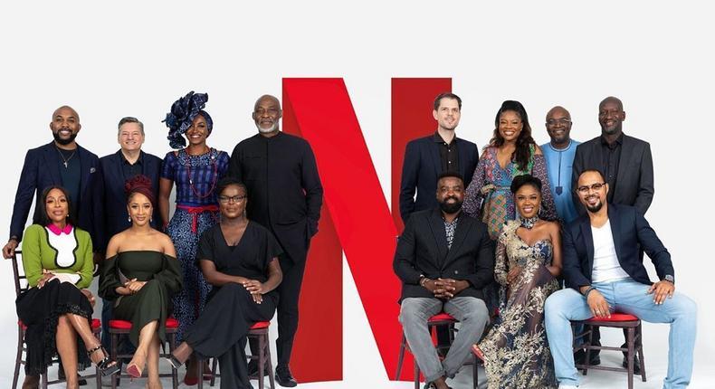 Kate Henshaw, Joke Silva, Bimbo Akintola, Richard Mofe Damijo are among the ensemble cast for Netflix Naija's first original series