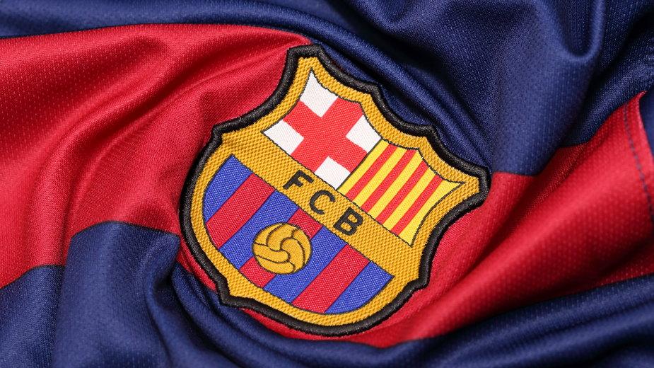 Logo Barcelony na koszulce