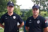 Policajci Radovan Vejić i Aleksandar Živković