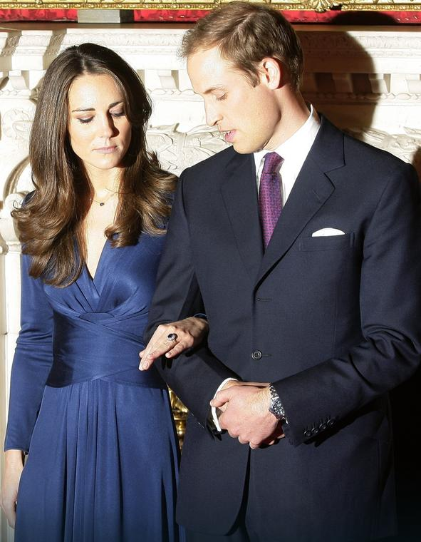 Książę William zaręczony